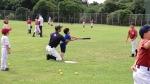 野球体験会がありました。